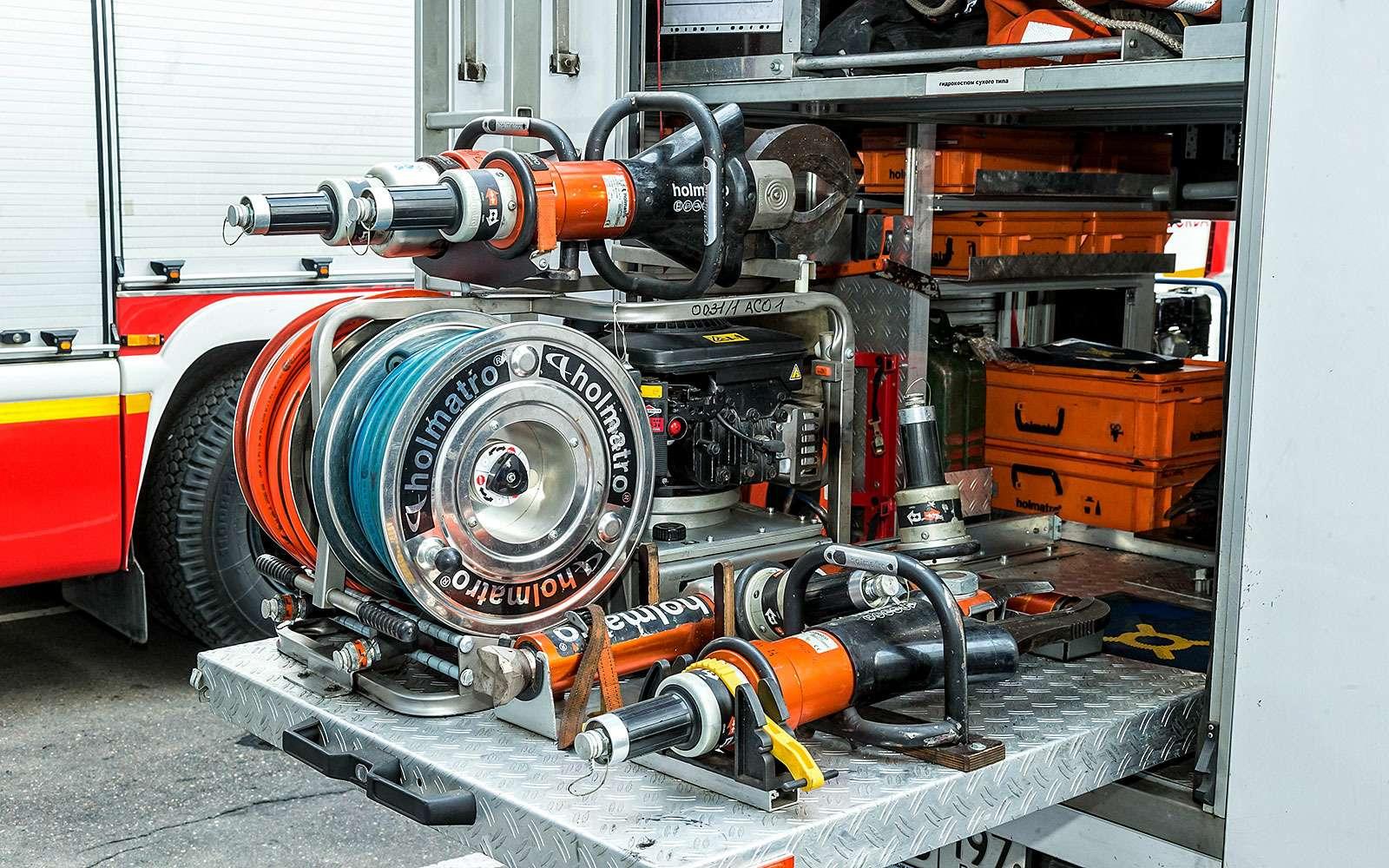 оборудования спецавтомобиля
