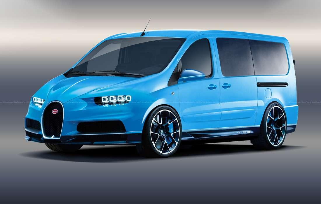 Пикап Skoda иминивэн Bugatti— коммерческие модели, которые выникогда невидели!— фото 844265