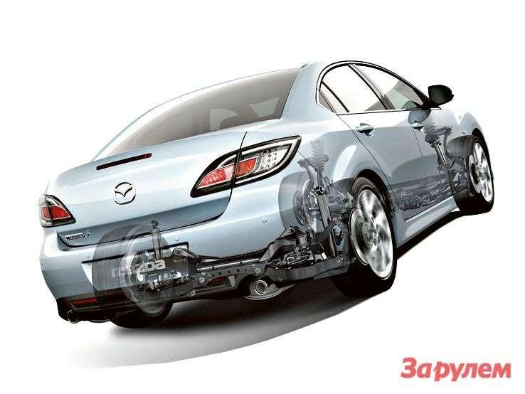 Mazda 6201140