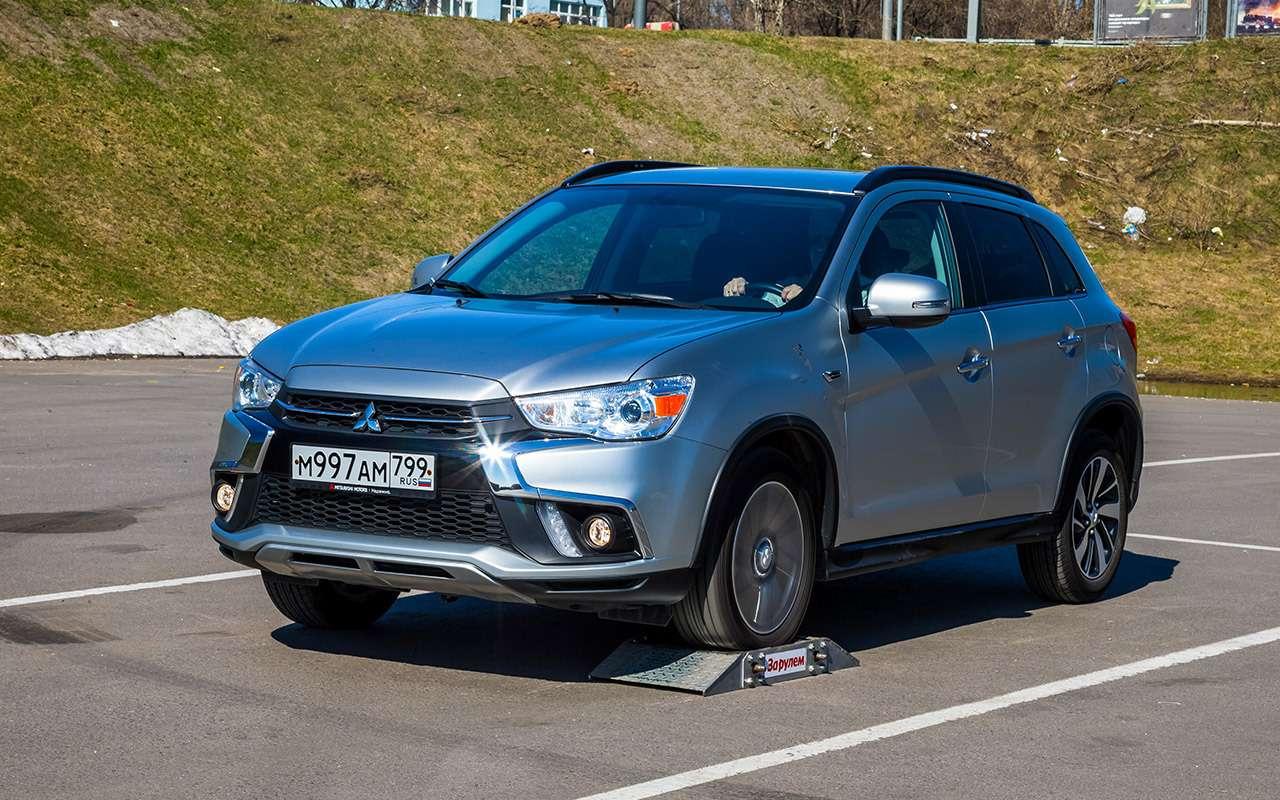 Nissan Qashqai, Mitsubishi ASX, Suzuki SX4 — тест-драйв в цифрах — фото 978251
