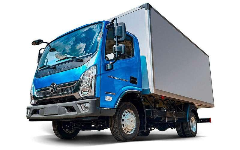 Новый грузовик ГАЗ: Валдай скабиной от«китайца»