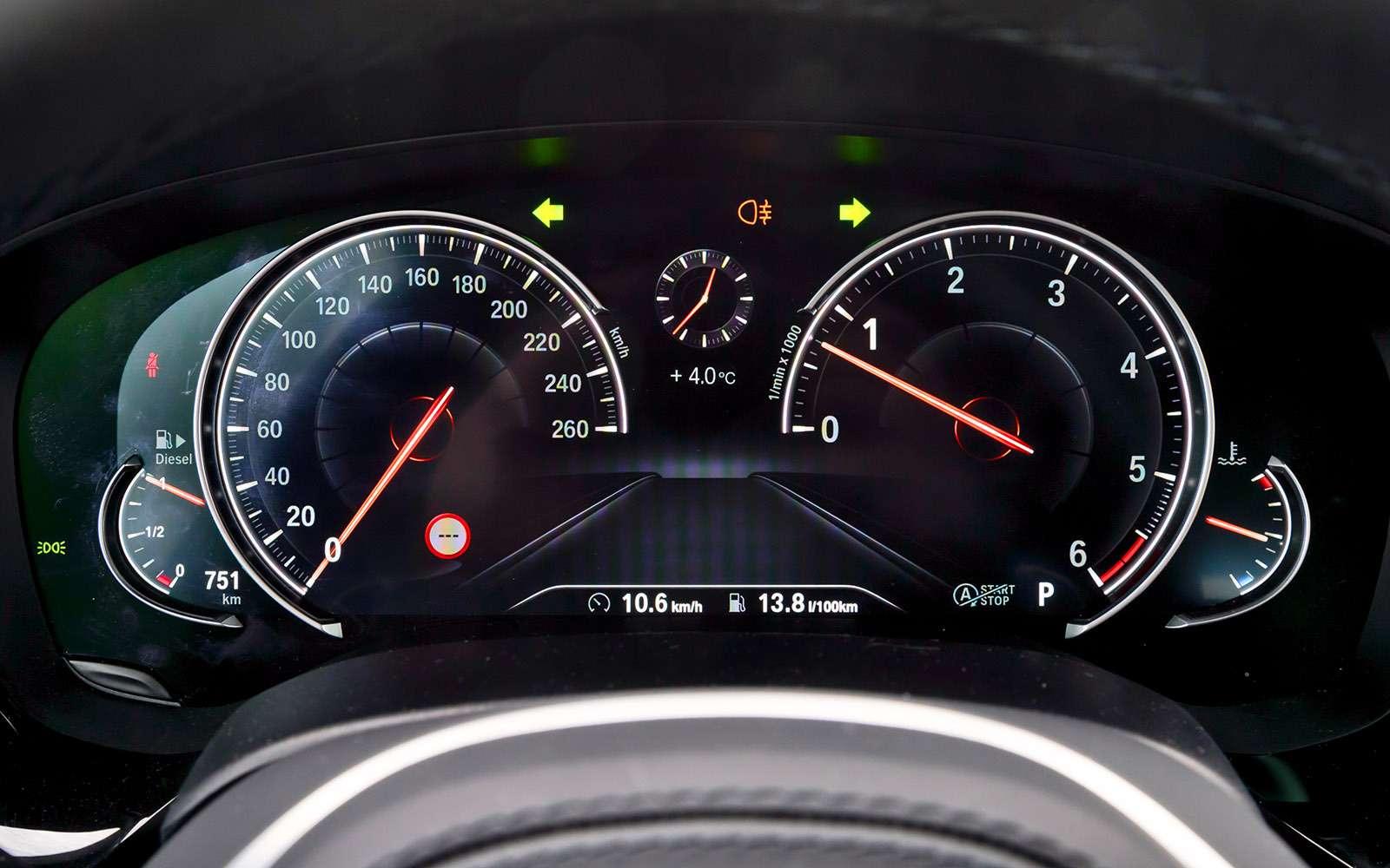 BMW5-й серии против конкурентов: кто напять?— фото 743815