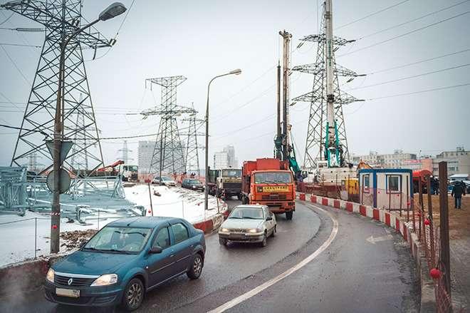 Кризис не повлиял настроительство дорог вМоскве