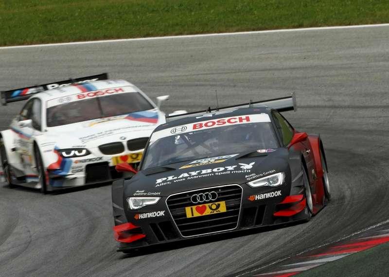 #21Edoardo Mortara, Team Rosberg, Playboy Audi A5DTM (2012)