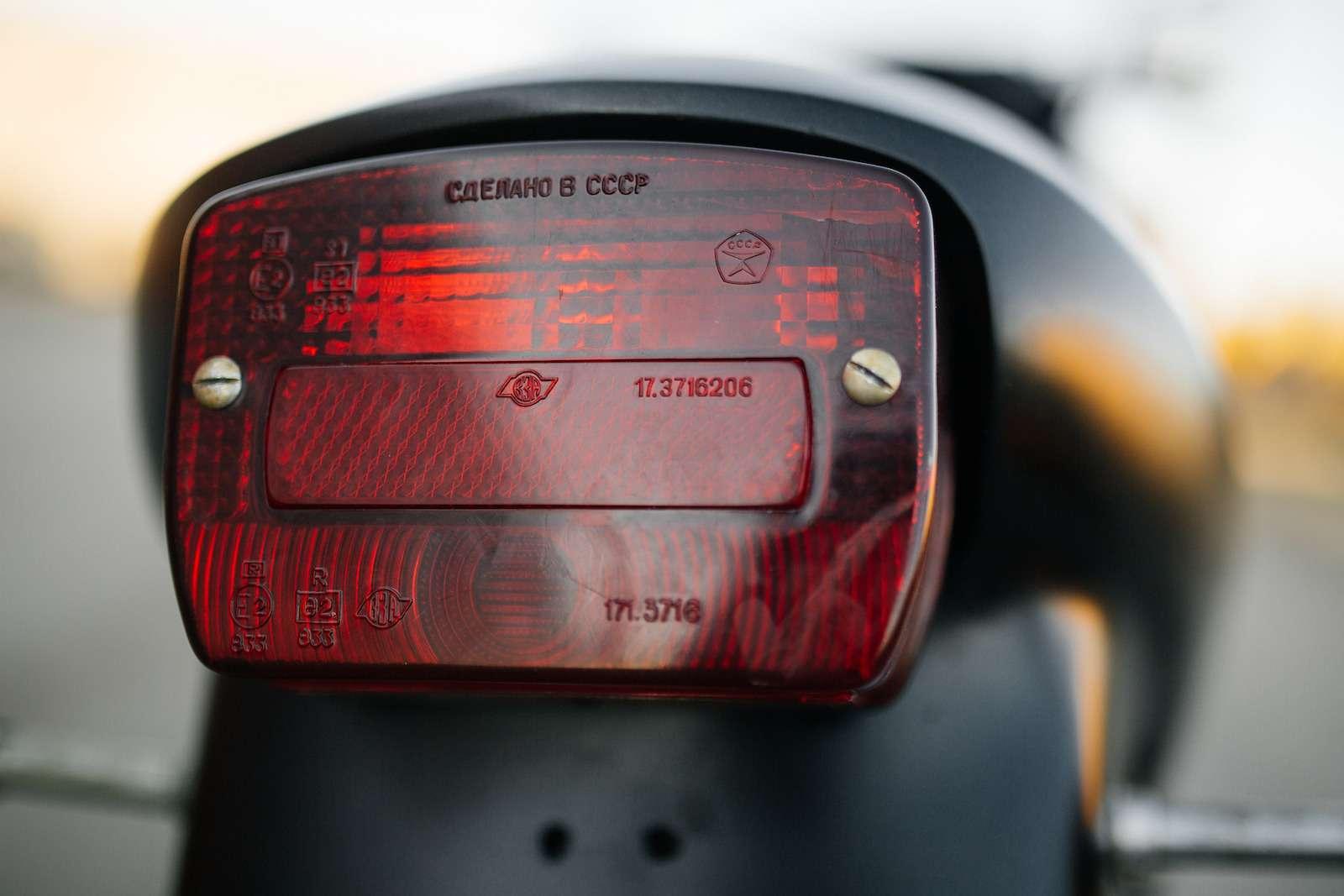 Первый советский мотоцикл сроторным двигателем: пуля сВАЗа!— фото 914949