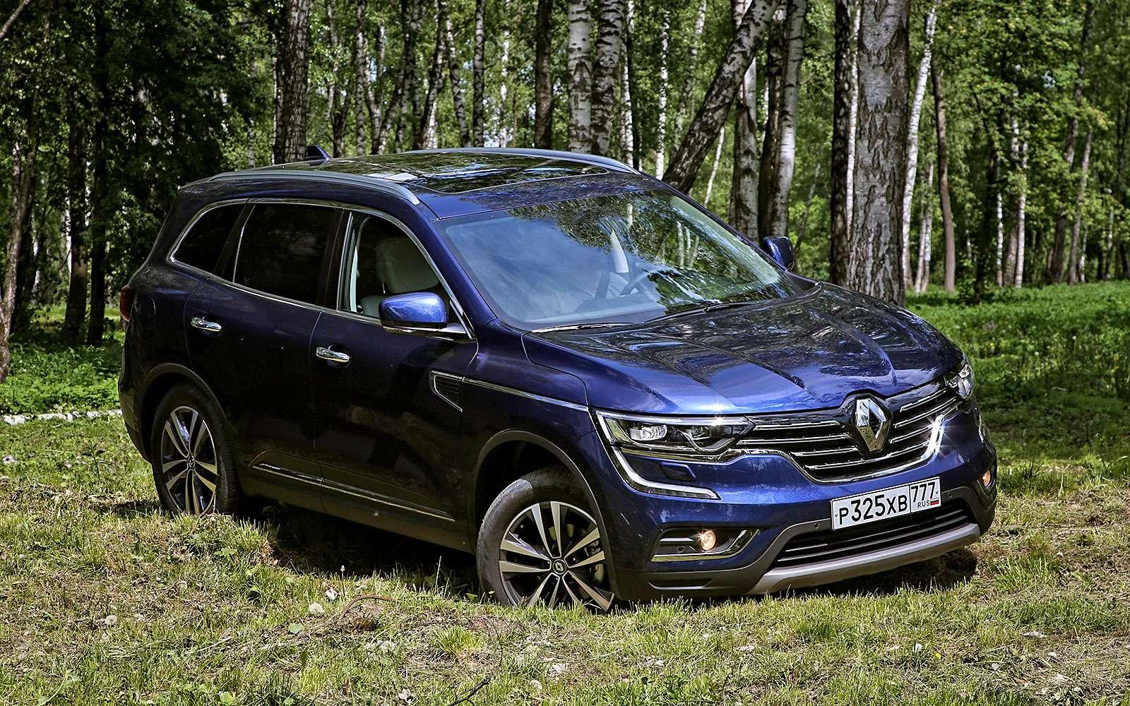 Секретные функции Renault Koleos, Duster, Logan идругих моделей— фото 878488