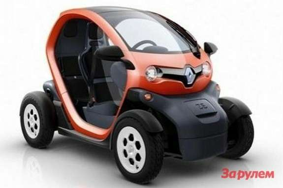 Renault Twizy side-front view