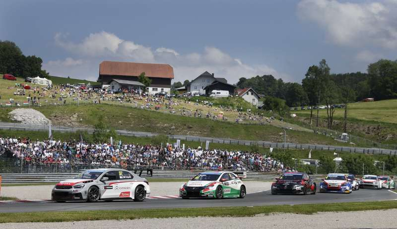 FIA WORLD TOURING CAR CHAMPIONSHIP 2014 — SALZBURGRING