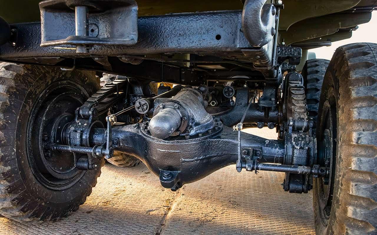 Машины Победы: ретротест настоящих фронтовых грузовиков— фото 1121597