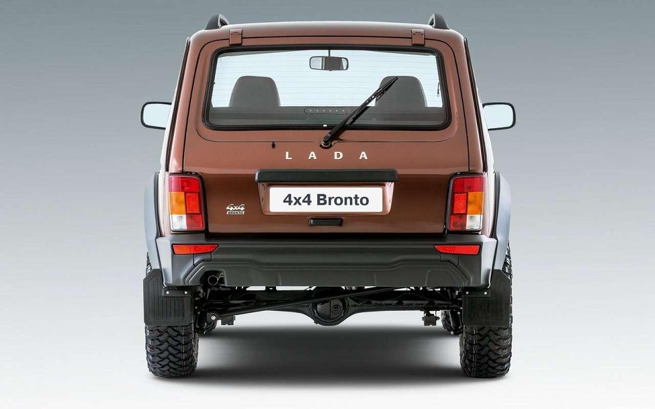 Niva Legend получит «агрессивную» версию Bronto— фото 1221778