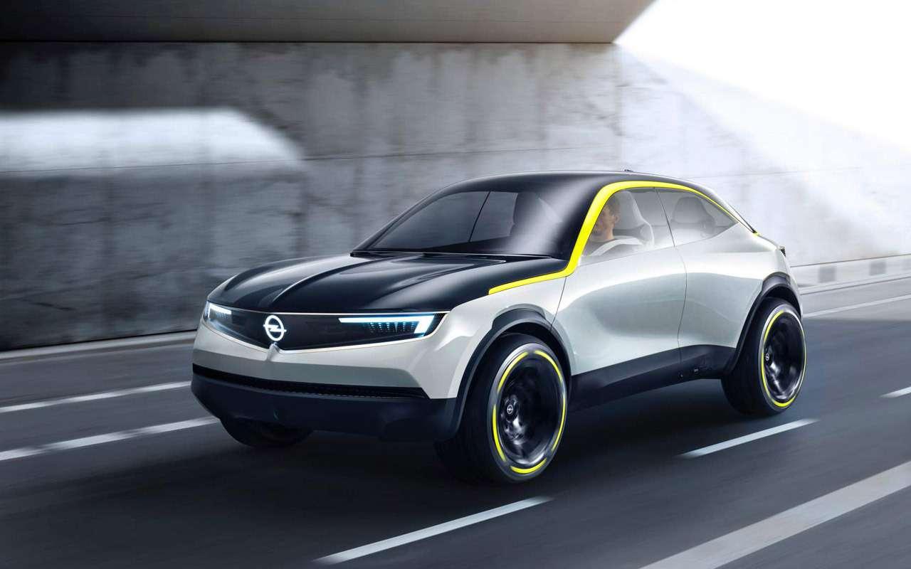 Opel готовит 8новых иобновленных моделей— фото 912912