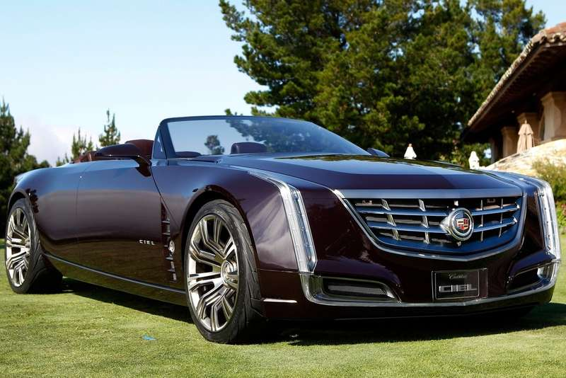 Cadillac Ciel Concept side-front view