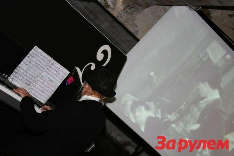 Презентация Audi A5Sportback. Ретро