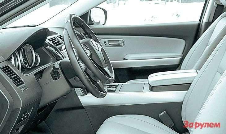 Mazda CX-9 регулировка руля