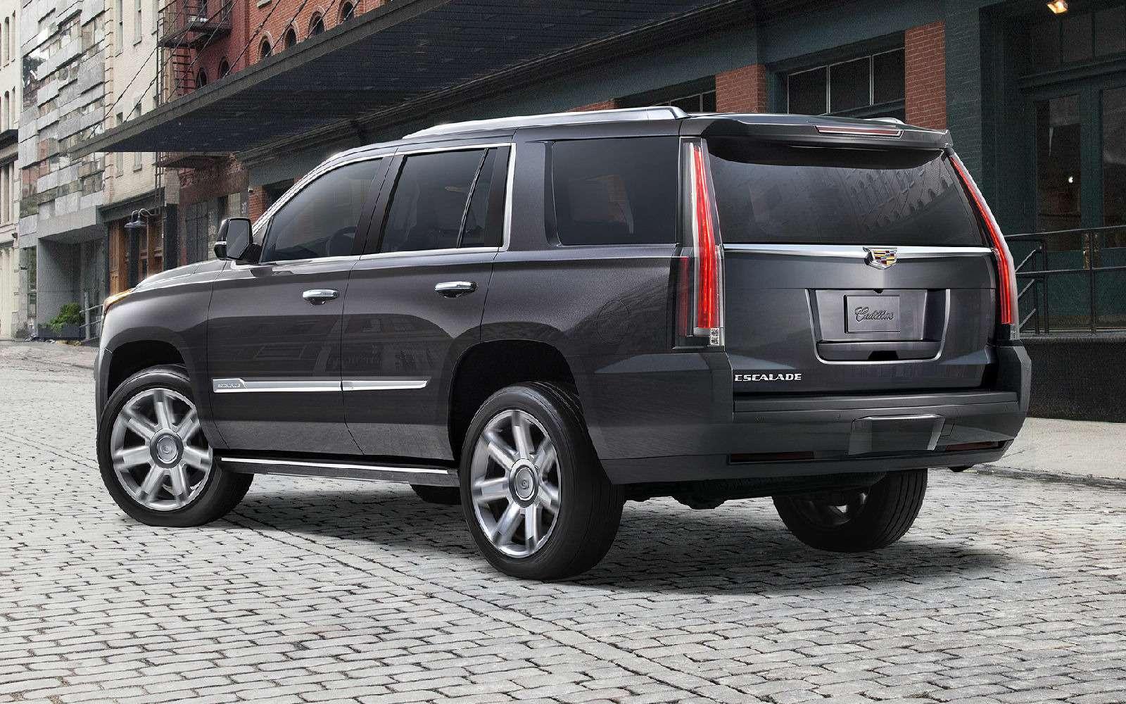 Cadillac привез вРоссию недообновленный Escalade— фото 840832