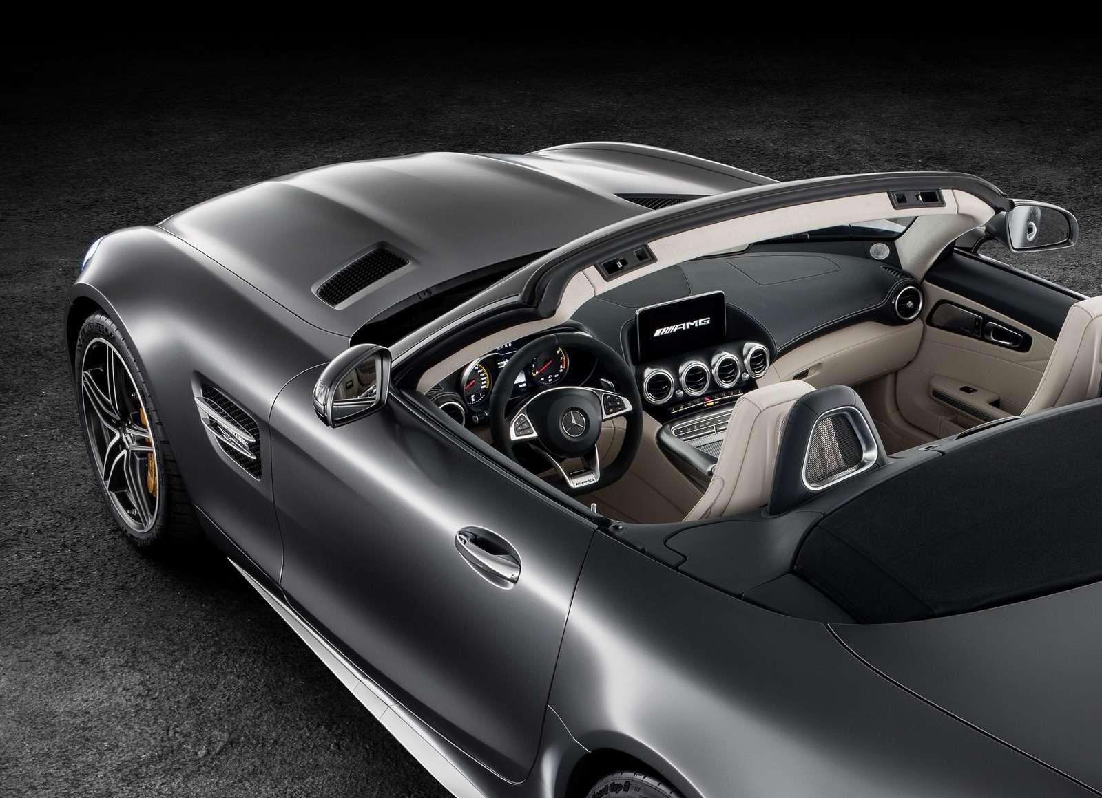 Mercedes-AMG GTRoadster: витамин С— фото 635003