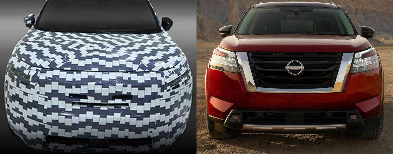 Nissan раскрыла секреты маскировки прототипов— фото 1222633