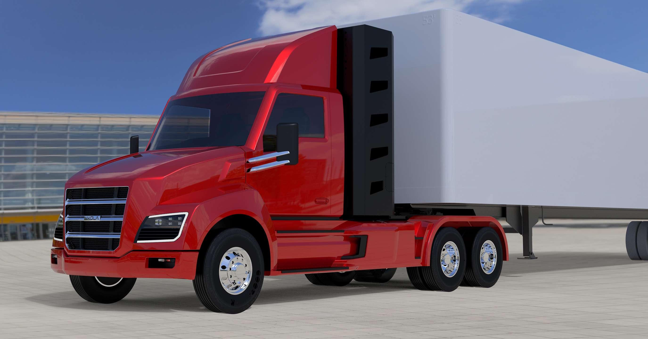 Воздушный замок: Nikola Motor сдержала слово иявила миру чудо-грузовик— фото 672503