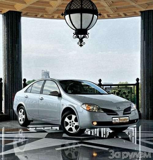 Тест Nissan Primera, Renault Laguna. Пробы нафотогеничность.— фото 29411