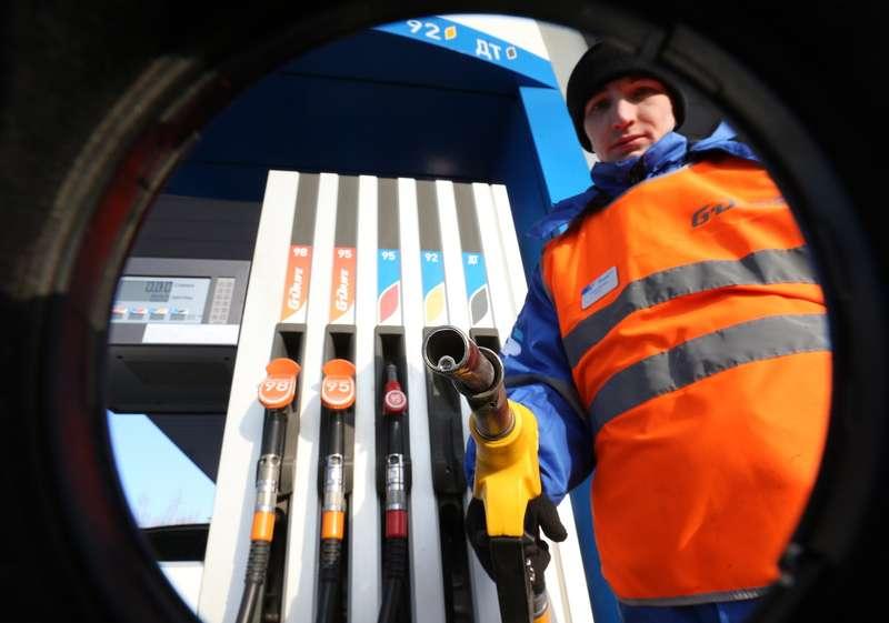 Gazprom Neft fuel filling station
