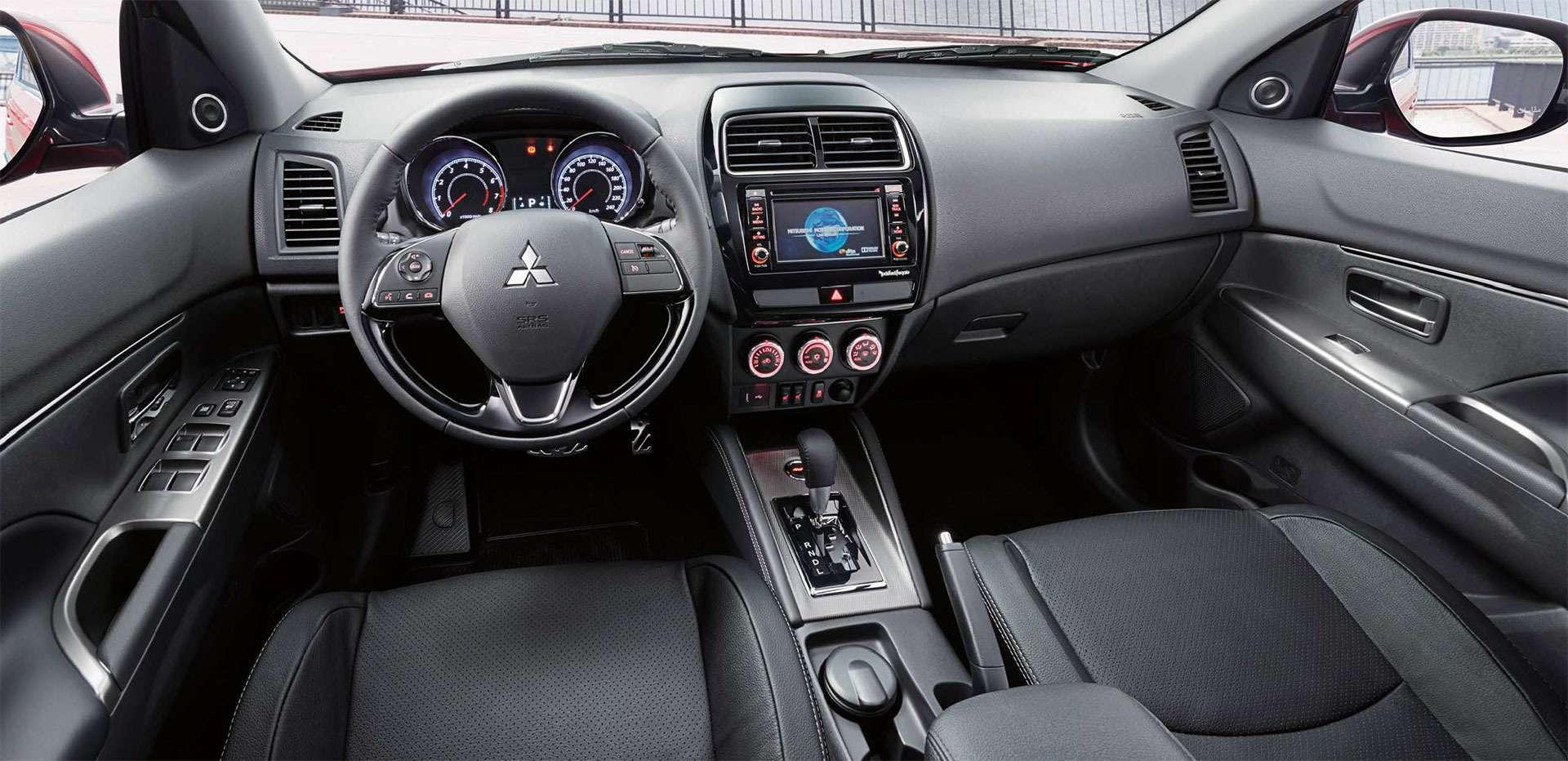 Mitsubishi представила вМоскве обновленный кроссовер ASX— фото 798320