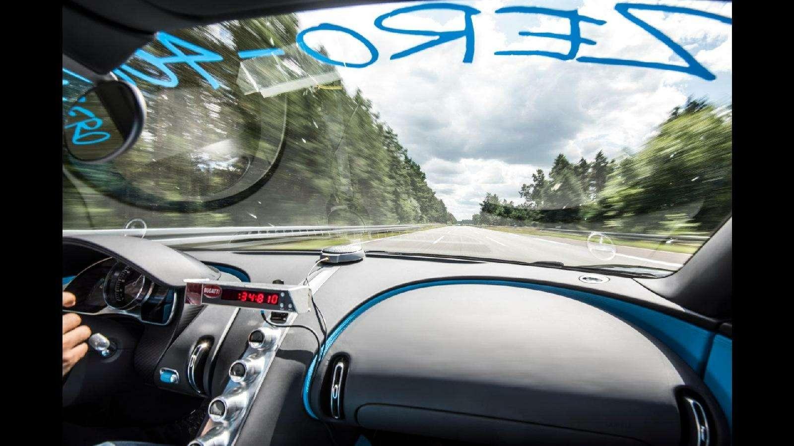0-400-0 км/ч— видео рекордного заезда Bugatti Chiron— фото 794900