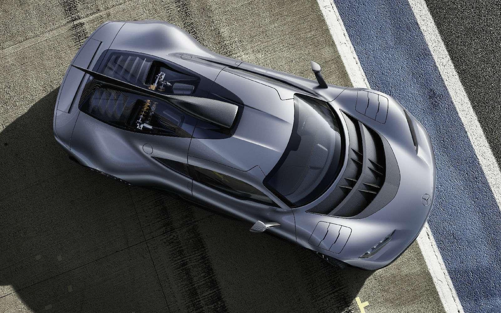 Mercedes-AMG Project One: 1000-сильный гиперкар с1,6-литровым мотором— фото 793631