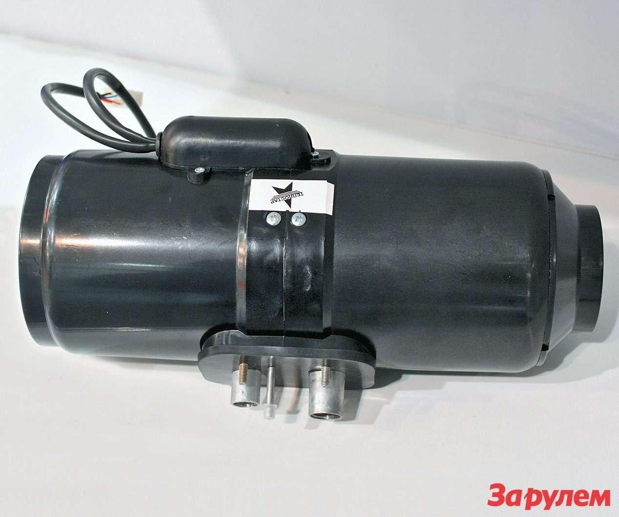 4-киловаттный «Планар-4Д» изСамары оснащен сборным теплообменником:  оребренный алюминиевый радиатор состоит издвух половинок