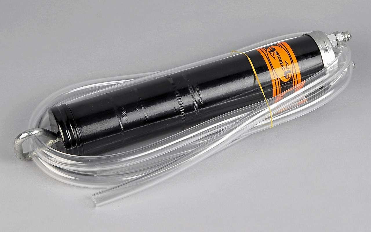 Насосы длязамены масла: выбор «Зарулем»— фото 1164518