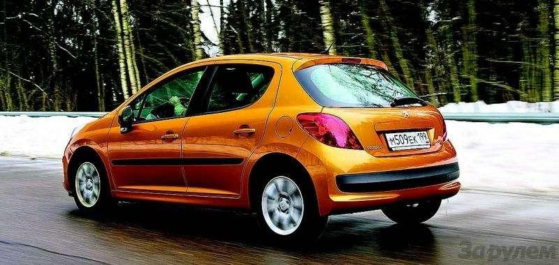 Peugeot 207, Chevrolet Aveo, Skoda Fabia: Кавалеры приглашают дам— фото 93075