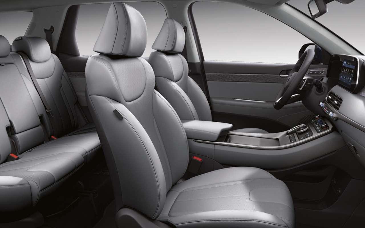 Новый Hyundai Palisade: цены икомплектации— фото 1205651