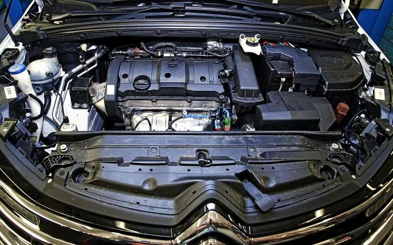 Бензиновый двигатель обновленного Citroen c4
