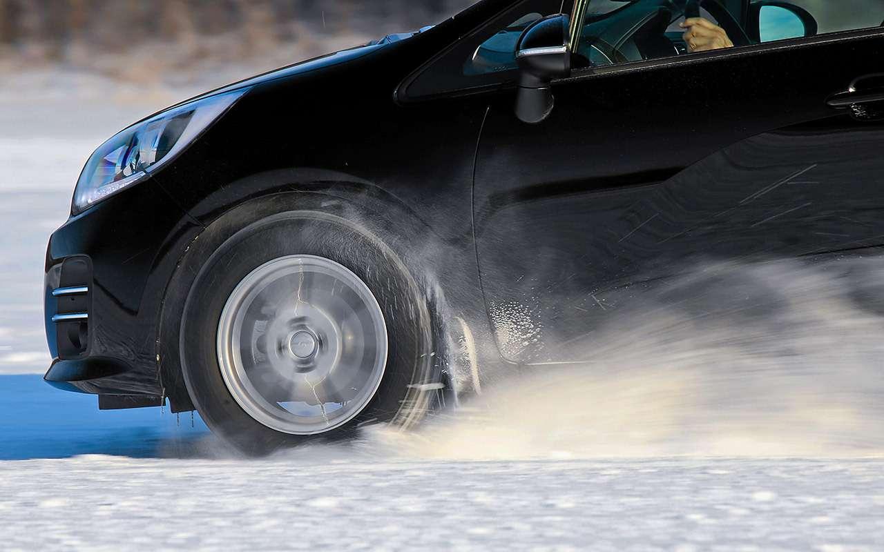 Шипованные шины 185/65R15для бюджетных автомобилей— тест «Зарулем»— фото 794288