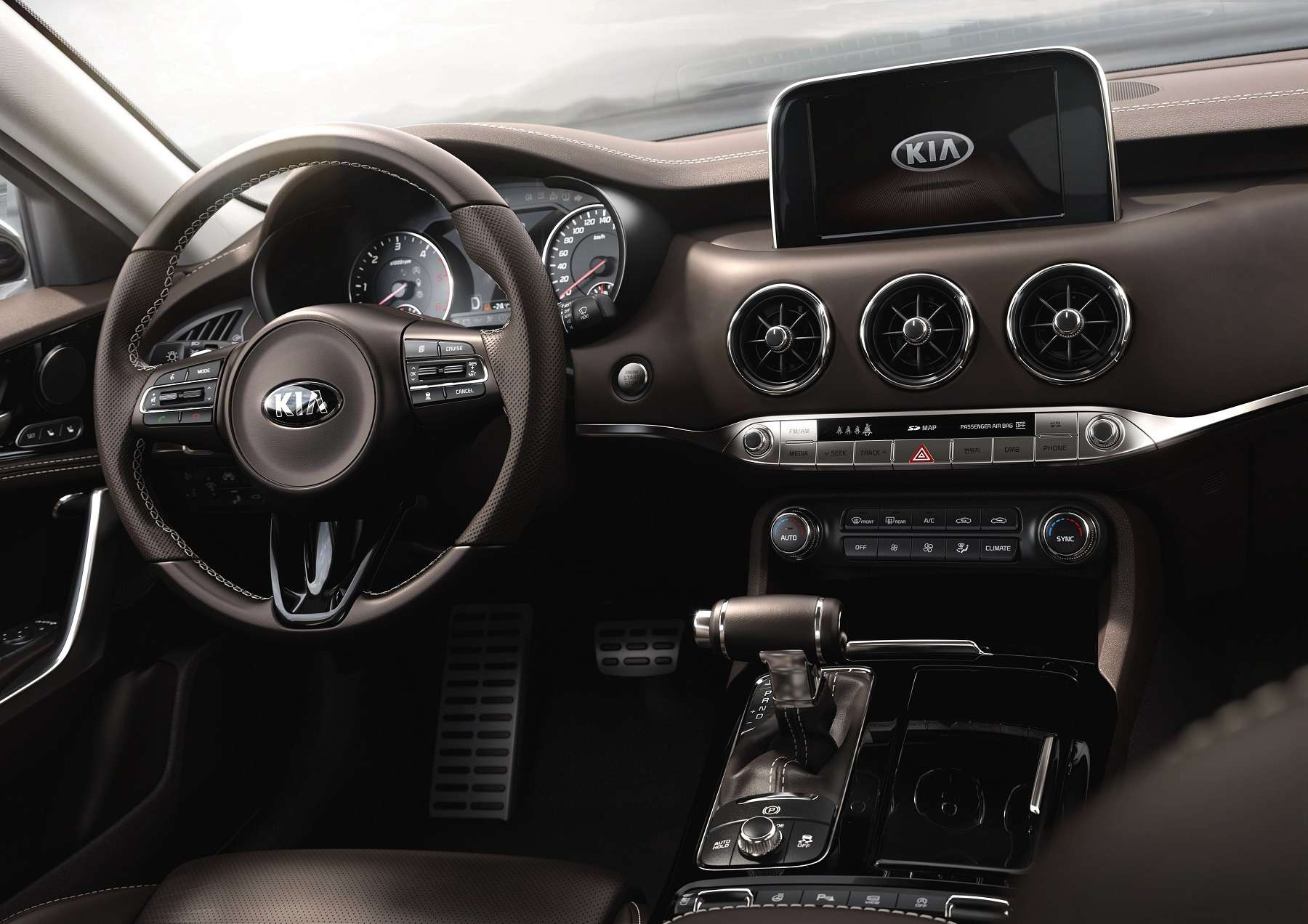 Stinger запущен: Kia показала разрекламированный спорткар— фото 689975