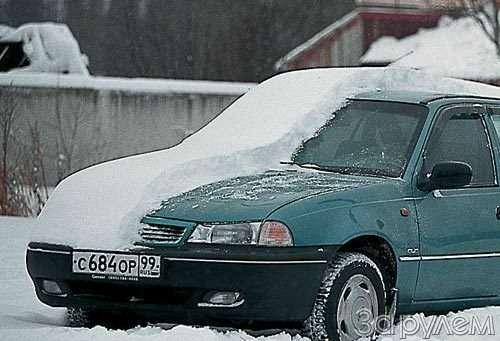 ТЕСТ Daewoo Nexia, Renault Symbol. БРОСОК НАСЕВЕР— фото 27598