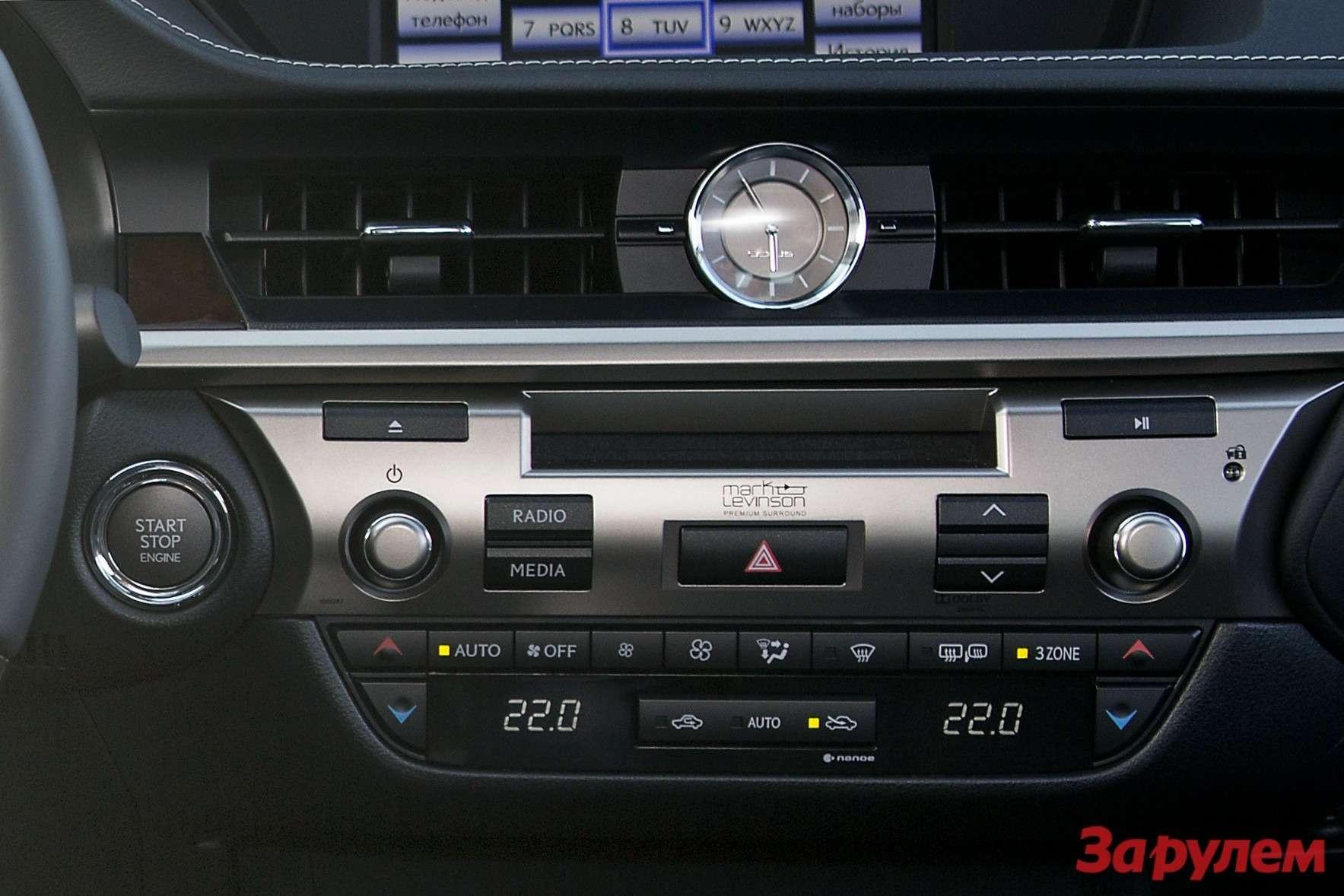 Lexus ES: перезагрузка впечатлений— фото 135058