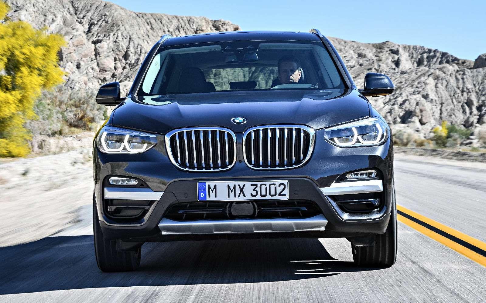 Новый BMW X3оказался крупнее старого Х5— фото 768558