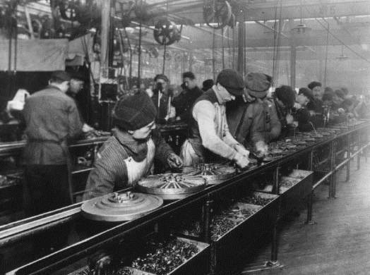 Ford Debuts Assembly Line