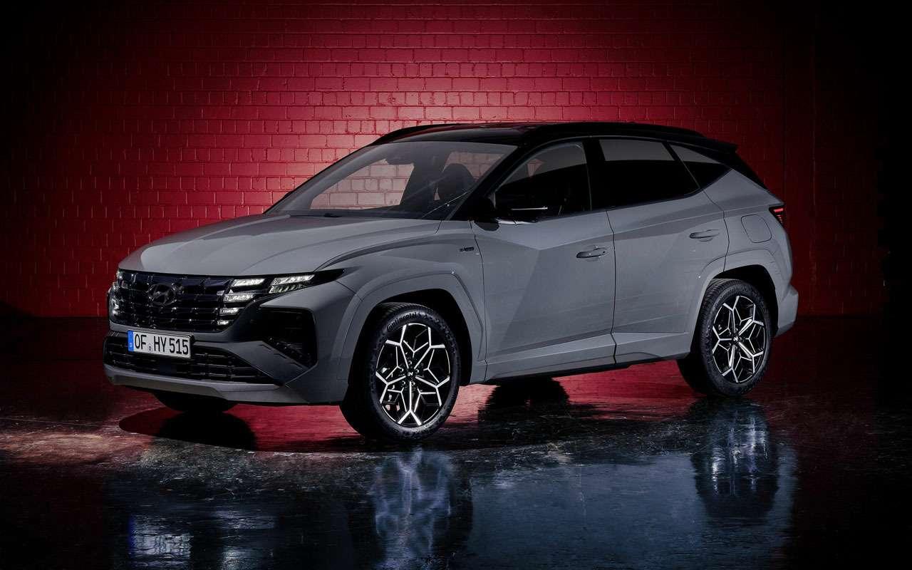 Hyundai показал спортивную версию Tucson— фото 1219205