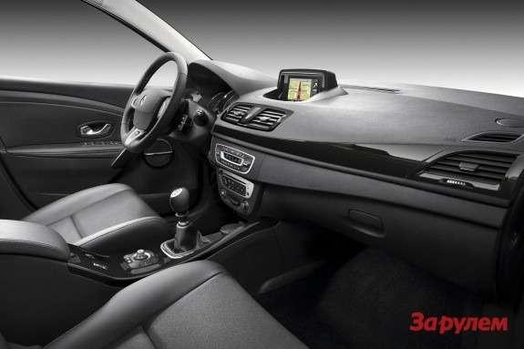 Renault Megane inside