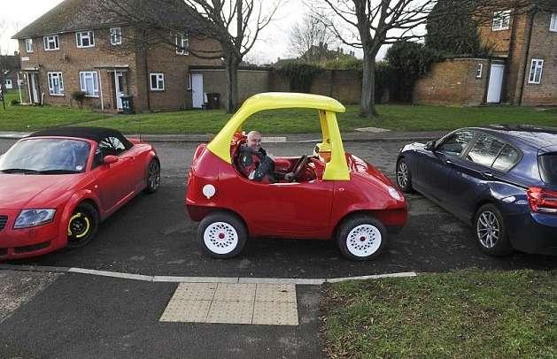 Daewoo Matiz превратился вкопию знаменитого детского автомобильчика