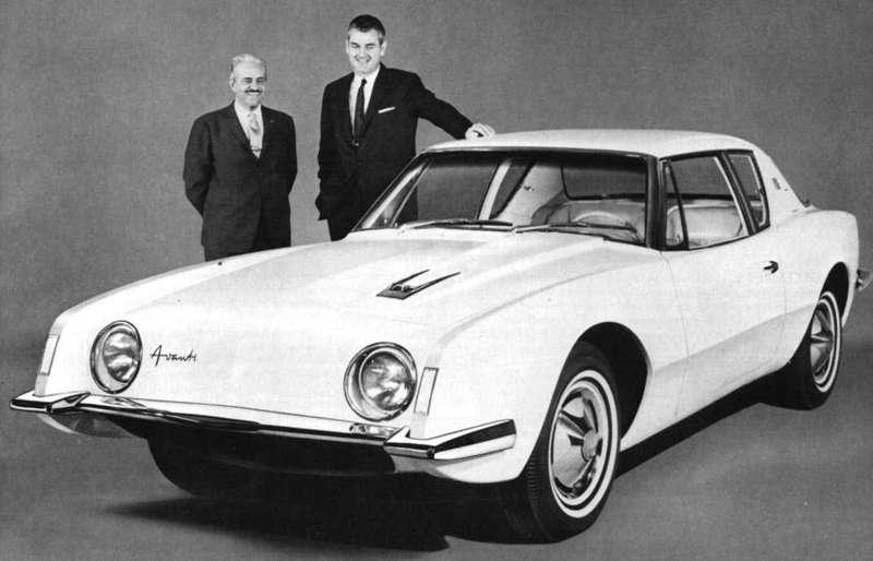 3 1962 Studebaker Avanti nocopyright