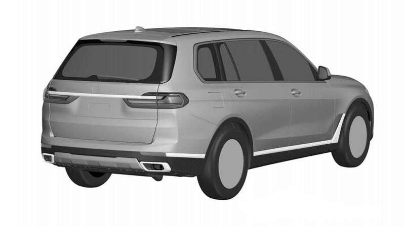 BMWX7: первые изображения