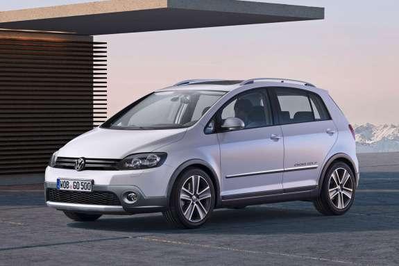 Volkswagen CrossGolf side-front view