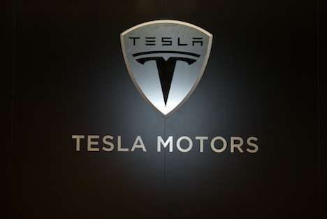 no copyright Tesla logo