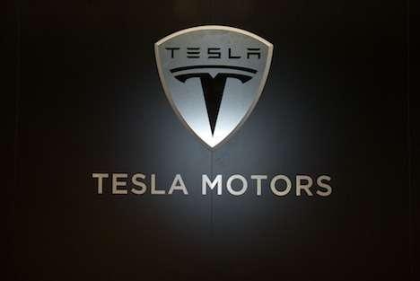 no copyright Tesla logo