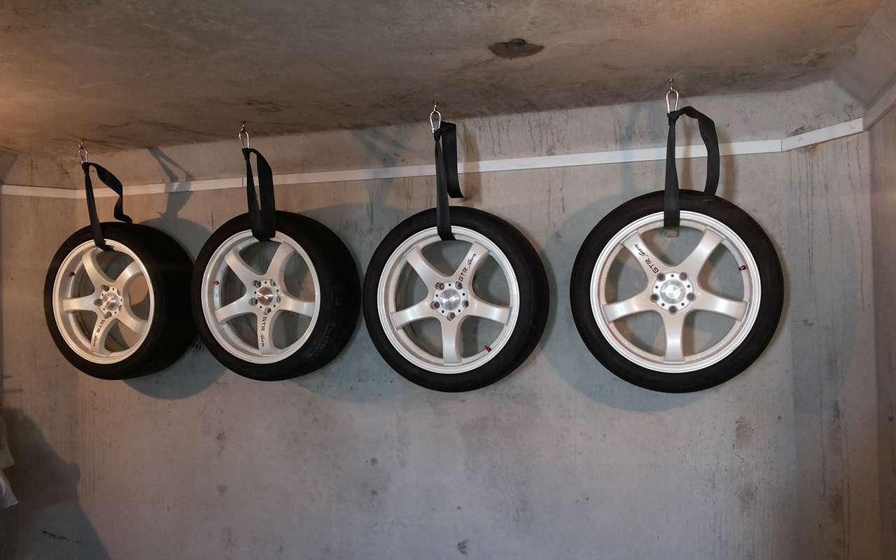 Какигде хранить шины— все ли выправильно делаете?— фото 818622