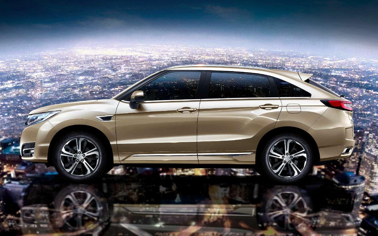 Новый кроссовер Honda UR-V: оннеполучка, неаванс— фото 715530