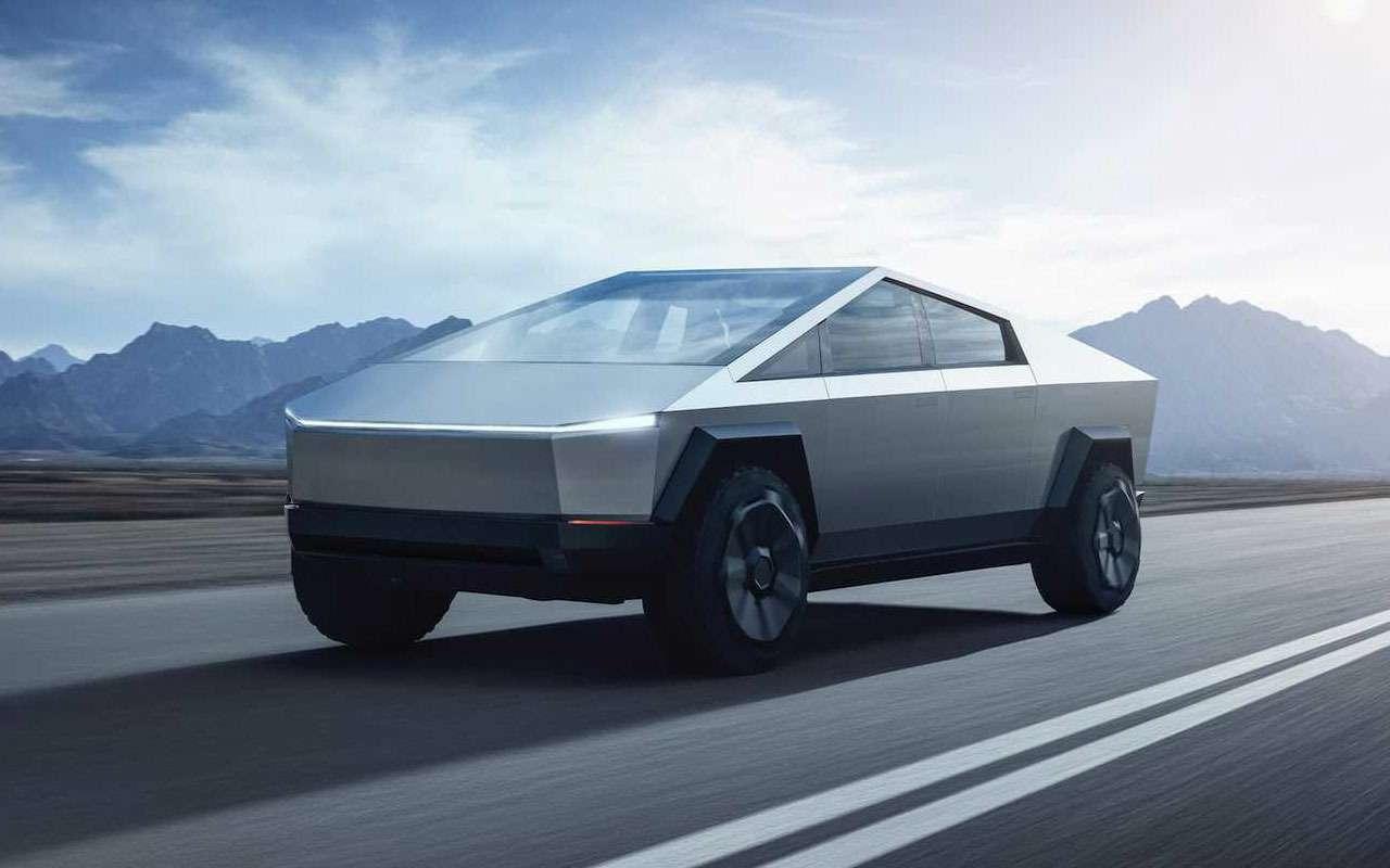Tesla представила пикап-броневик Cybertruck, который уже хотят «развидеть»— фото 1010694