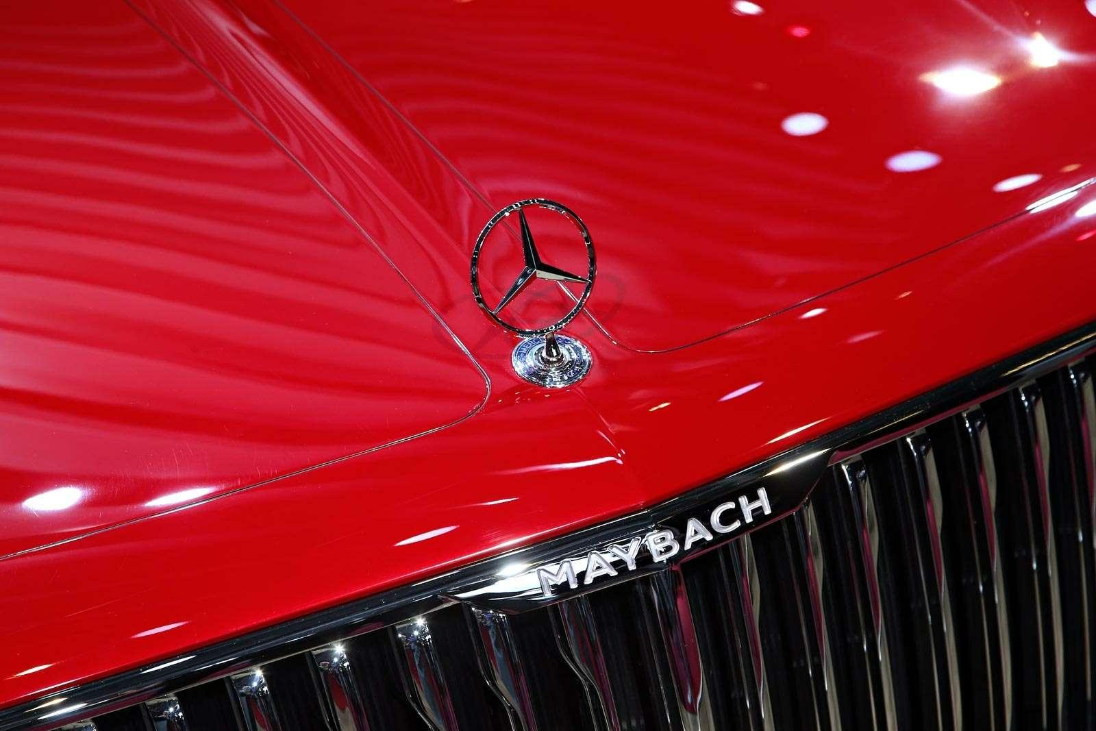 Самый красивый автомобиль Парижа: Vision Mercedes-Maybach 6завоевывает сердца— фото 643574